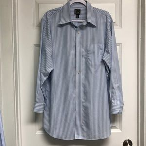 Choose 2 for $25 Jos. A. Bank men's blue pinstripe